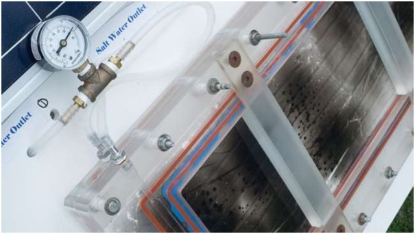 Máy lọc nước áp dụng công nghệ NESMD.