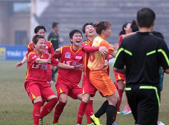 Đội nữ TPHCM lần thứ 3 liên tiếp vô địch giải bóng đá nữ vô địch quốc gia