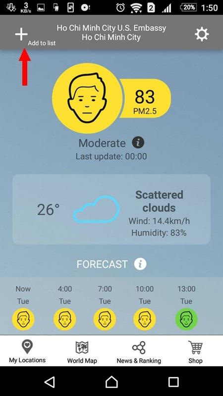 Theo dõi mức độ ô nhiễm không khí các thành phố tại Việt Nam - 3