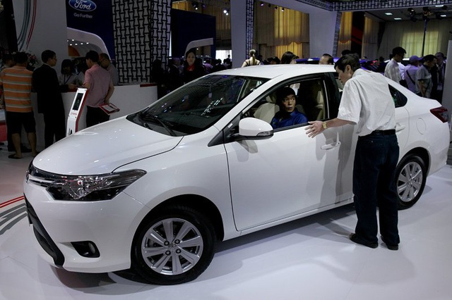 Cuộc đua giảm giá xe ô tô sẽ còn tiếp diễn? (ảnh Lê Anh Dũng)