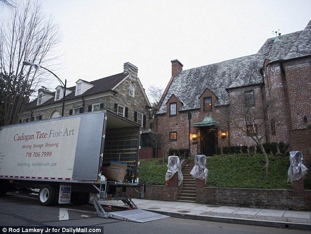Gia đình Tổng thống Obama chuẩn bị dọn đến nhà mới - 7
