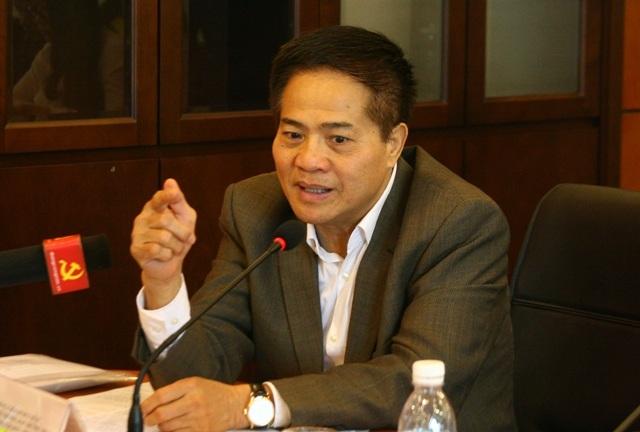 PGS.TS Đào Duy Quát, nguyên Phó trưởng Ban thường trực Ban Tư tưởng - Văn hóa Trung ương phát biểu tại buổi tọa đàm (Ảnh: X.H)