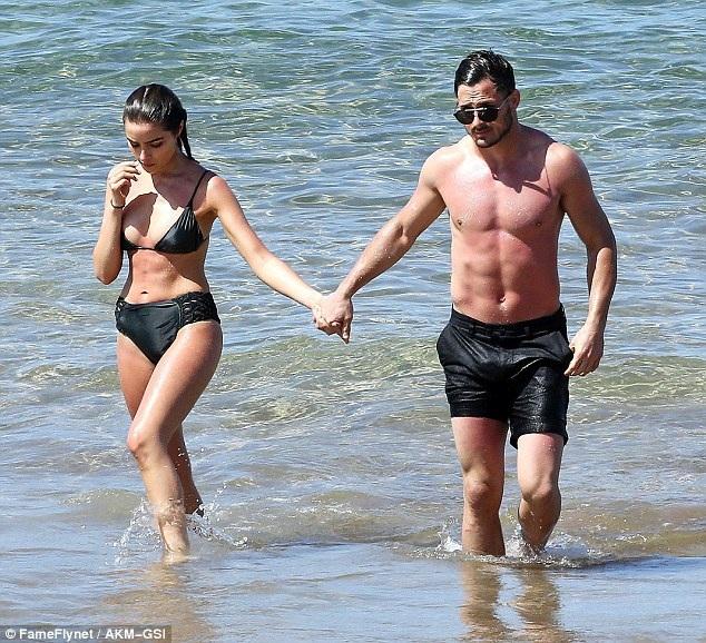 Olivia và bạn trai 31 tuổi trông rất đẹp đôi.