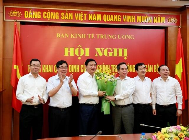 Ông Đinh La Thăng nhận nhiệm vụ Phó trưởng Ban Kinh tế Trung ương