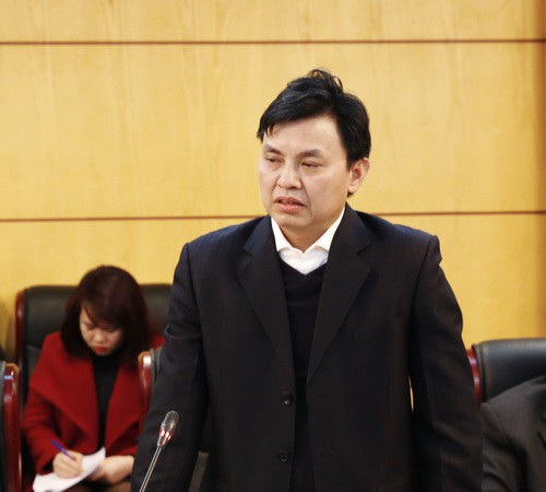 Ông Hoàng Văn Thức - Phó Tổng cục trưởng Tổng cục Môi trường.