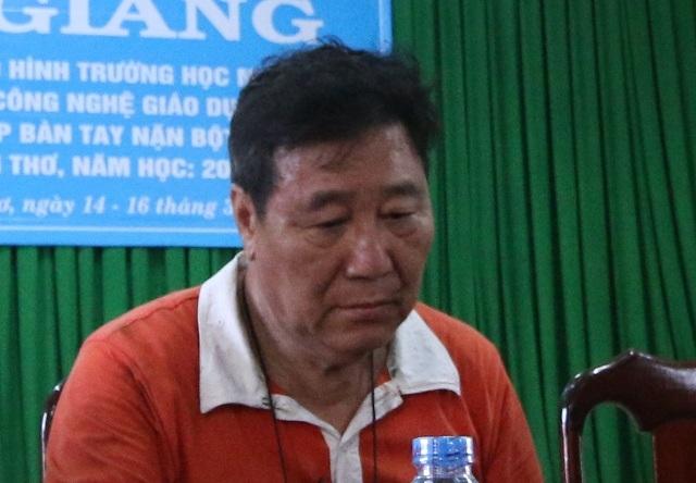 Ông Chen Lai Shih Kuan - Tổng giám đốc công ty may Kwong Lung - Meko gửi lời cảm ơn tinh thần cứu hỏa của các lực lượng ban ngành, đồng thời xin lỗi vì đã để xảy ra hỏa hoạn.