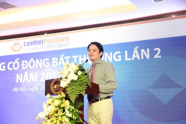 Ông Nguyễn Đức Hưởng - Chủ tịch HĐQT LienVietPostBank