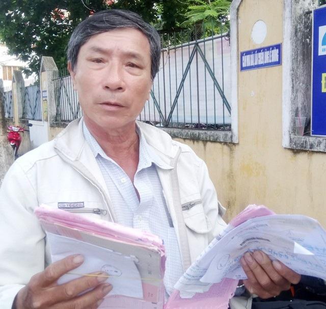 Ông Nguyễn Thanh Liêm, một thương binh bị mất chế độ chính sách và mất luôn cả đất đai.