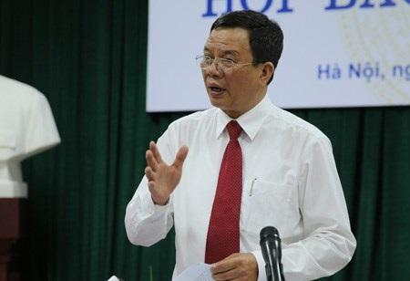 Ông Phạm Đình Thi - Vụ trưởng Vụ Chính sách thuế, Bộ Tài chính.