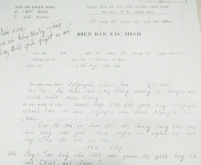 Cà Mau: UBND huyện Thới Bình thực hiện chưa phù hợp theo luật! - 2