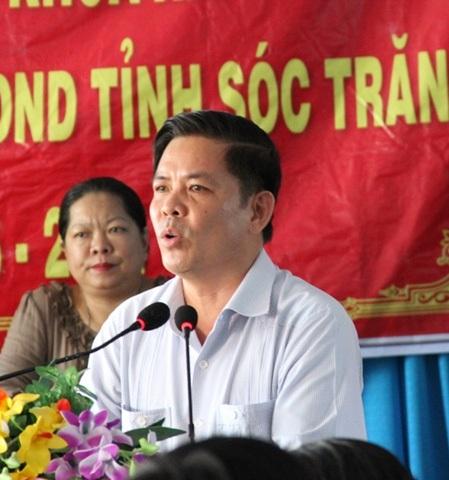Ông Nguyễn Văn Thể - Bí thư Tỉnh ủy Sóc Trăng (ảnh: CAND)