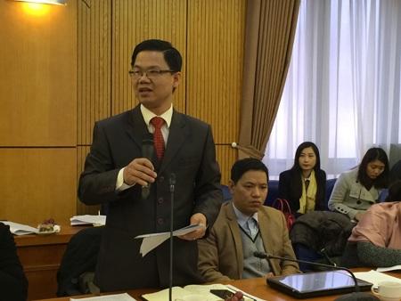 Ông Trần Việt Hưng - Phó cục trưởng Cục Bồi thường nhà nước, Bộ Tư pháp (Ảnh: T.K)