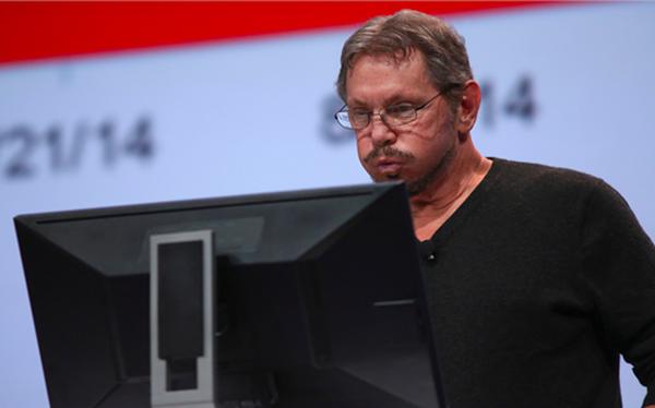 Larry Ellison - chủ tịch kiêm giám đốc công nghệ Oracle.