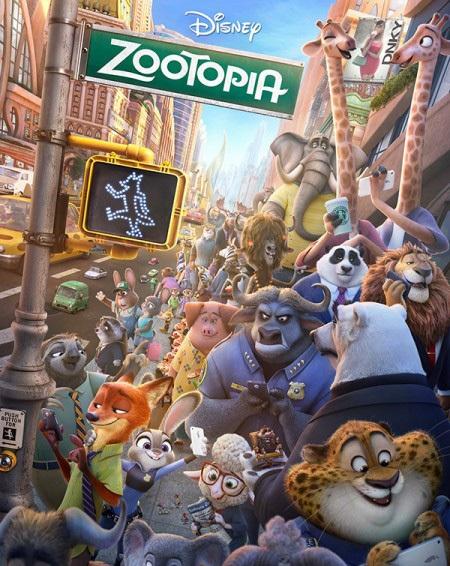 Zootopia giành giải Phim hoạt hình hay nhất của Oscar năm 2017.