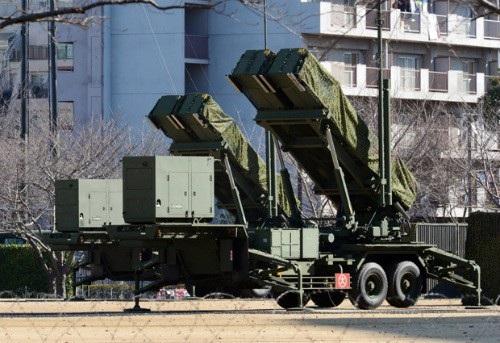 Hệ thống phòng thủ tên lửa Patriot cải tiến PAC-3 (Ảnh: AFP)
