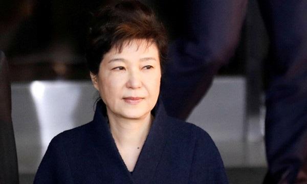 Cựu Tổng thống bị phế truất Park Geun-hye. (Ảnh: Reuters)