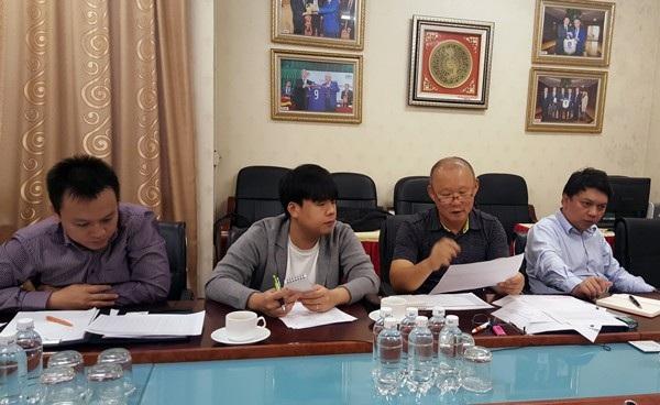 HLV Park Hang Seo chuẩn bị những kế hoạch dài hơi cho bóng đá Việt Nam