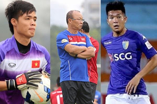 HLV Park Hang Seo trao cơ hội cho khá nhiều tân binh ở U23 Việt Nam