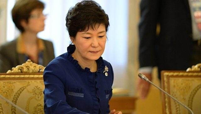 Tổng thống Hàn Quốc bị phế truất Park Geun-Hye. (Ảnh: AFP)