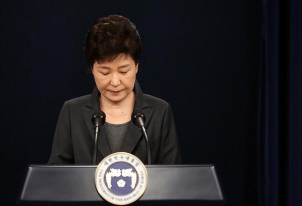 Cựu Tổng thống Park Geun-hye. (Ảnh: EPA)