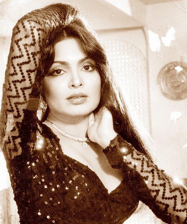 Nữ diễn viên Parveeb Babi (1949-2005)