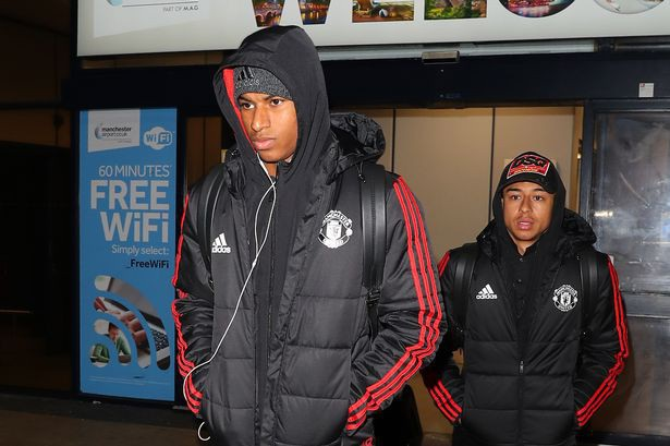 Rashford và Lindegard, hai cầu thủ trẻ của MU