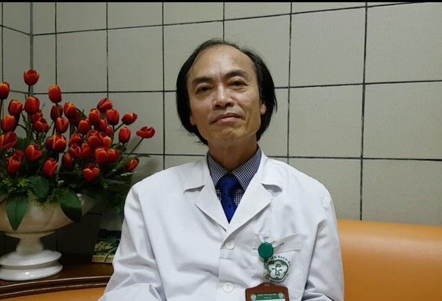 PGS.TS Nguyễn Tiến Dũng, nguyên Trưởng khoa Nhi (BV Bạch Mai). Ảnh: H.Hải