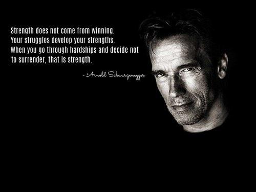 Cựu Thống đốc bang California Arnold Schwarzenegger sẵn sàng truyền cảm hứng đến bạn bè và cả những người không quen