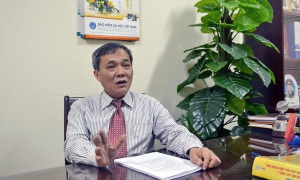 Ông Phạm Lương Sơn - Phó Tổng Giám đốc BHXH VN.