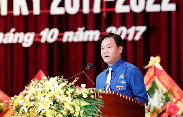 Anh Phạm Tuấn Vinh tái đắc cử Bí thư Tỉnh đoàn Nghệ An nhiệm kỳ 2017-2022