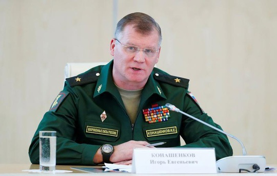 Phát ngôn viên Bộ Quốc phòng Nga Igor Konashenkov. (Ảnh: Reuters)