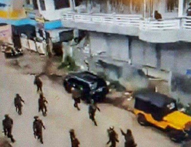 Các phiến quân Maute ở thành phố Marawi, Philippines. (Ảnh: Rappler)