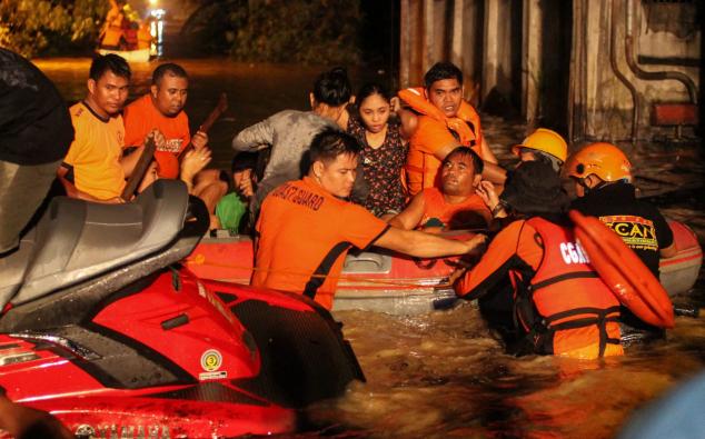 Mỗi năm Philippines phải hứng chịu trung bình khoảng 20 cơn bão lớn. Tuy nhiên, đảo Mindanao, nơi có khoảng 20 triệu dân sinh sống, hiếm khi phải đối mặt với cơn bão lớn như Tembin.
