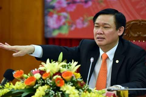 Phó Thủ tướng Vương Đình Huệ chốt hạn trong tháng 4/2017 phải hoàn thành toàn bộ việc giao kế hoạch vốn đầu tư công trung hạn 2016-2020
