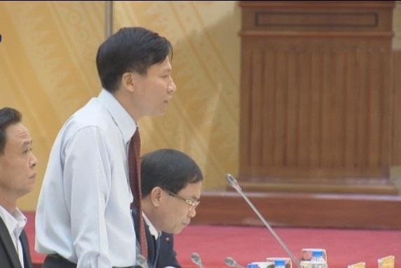 Đại diện Thanh tra Chính phủ trả lời câu hỏi về việc truy nguyên nguồn gốc tài sản của cựu Giám đốc Sở TN-MT tỉnh Yên Bái.
