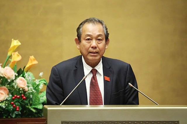 """Phó Thủ tướng thường trực Trương Hoà Bình yêu cầu làm rõ việc cấp sổ đỏ cho """"đất ma"""" tại huyện Hoài Đức."""
