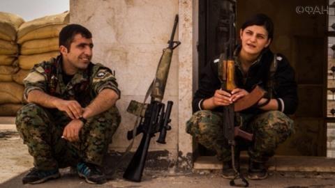 Người Kurd trong thời gian chuẩn bị đánh chiếm Deir ez-Zor