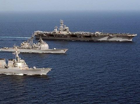 Đây là lần đầu tiên từ Thế chiến II không một tàu sân bay nào của Mỹ được triển khai tới các vùng biển trên thế giới