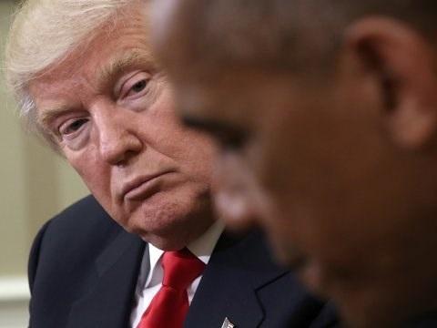 Tổng thống đắc cử Mỹ Donald Trump và Tổng thống đương nhiệm Barack Obama. (Nguồn: Business Insider)