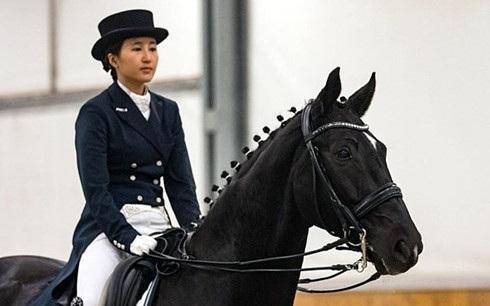 Chung Yoo-ra con gái bà Choi Soon-sil đã bị cảnh sát Đan Mạch bắt giữ. (Ảnh: Reuters)