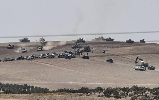 Thổ Nhĩ Kỳ triển khai quân ở miền bắc Syria