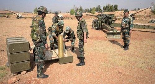 Quân đội Syria đang chuẩn bị cho những trận chiến giải phóng các vùng đất cuối cùng. Ảnh: Al-Masdar News.