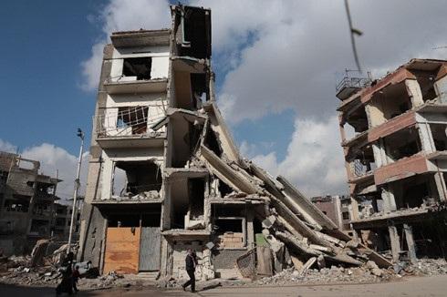 Cuộc nội chiến kéo dài gần 6 năm qua ở Syria đang có hy vọng sẽ kết thúc. Ảnh: AFP