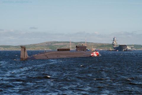 Tàu ngầm hạt nhân lớp Borey