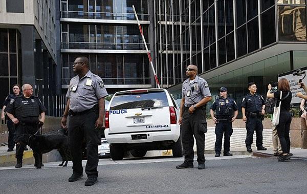 Các phương án bảo vệ an ninh cho buổi lễ nhậm chức đã được tính toán kỹ lưỡng. Ảnh: AP.