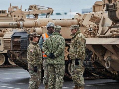 Các thiết bị quân sự sẽ sớm được chuyển đến các nước vùng Baltic giáp Nga