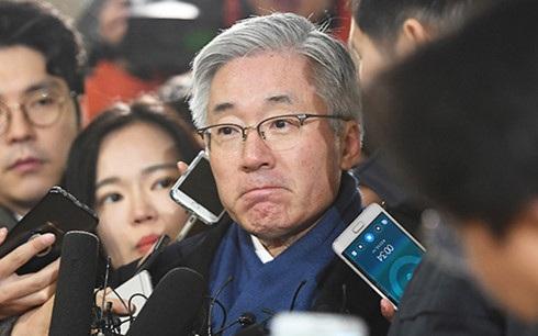Cựu Bộ trưởng Văn hóa Hàn Quốc Kim Jong-deok. (Ảnh: Yonhap)