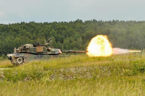 Tăng M1A2 Sep V2 Abrams.