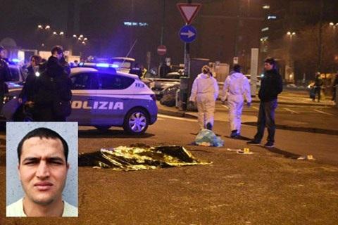 Anis Amri bị cảnh sát bắn hạ ở Milan.