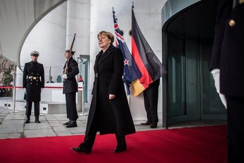 Thủ tướng Đức Angela Merkel không nao núng vì bình luận của Tổng thống đắc cử Mỹ Donald Trump. Ảnh: EPA.
